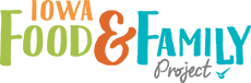 Iowa Food and Family Project logo