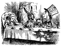 Alice in Wonderland illustration