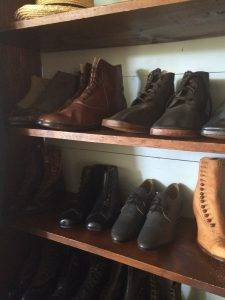 shoes at the general store