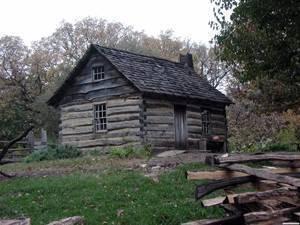 log house 1850