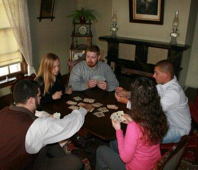 card game in tangen parlor