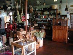 interior shot of general store