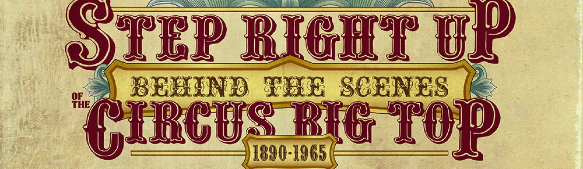 Step Right Up Exhibit logo