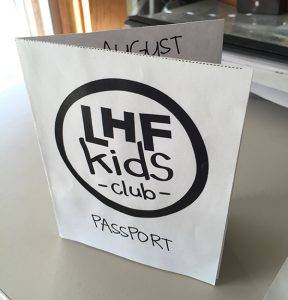LHF Kids Club Passport