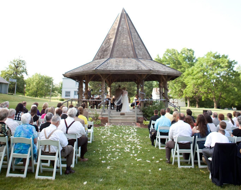 Gazebo Wedding At Living History Farms