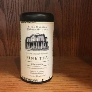 chamomile tea tin