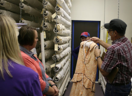 behind the scenes collections tours