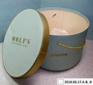 Wolf's Hat box from LHF collection