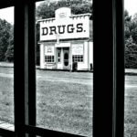exterior view of drug store